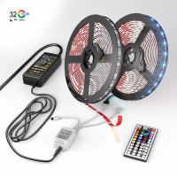 Wholesale 16.4ft/5m Led Strip Lights , 12 Volt Dc Rope Lights With Bluetooth Smartphone APP Controller from china suppliers