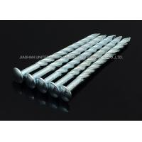 """Wholesale Sharp Point Galvanized Twist Shank Nails , 5""""X BWG6 Round Head Screw Shank Nails from china suppliers"""