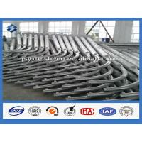 Wholesale Q235 Material 60mm Single Arm Street Lighting Pole Eight Meters High Once forming from china suppliers