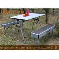 Wholesale Aluminum Multi-Purpose Center Folding Outdoor Camping Table Capacity 50kg from china suppliers