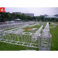 Quality 6082 T6 Aluminium Box Truss System 0.9ft - 3.3ft For Outdoor Celebration Party for sale