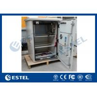 Wholesale Outdoor Pole Mount Enclosure , Telecom Battery Cabinet With DC48V Air Conditioner from china suppliers