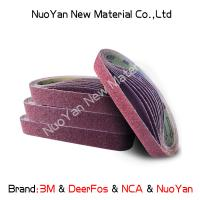 Wholesale Non Woven  Diamond Grit Sanding Belts  Nylon  Suitable For Producing Mat from china suppliers