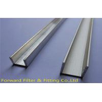 Wholesale Galvanized Sheet Metal U Channel / Extruded Aluminum U Channel For Construction from china suppliers