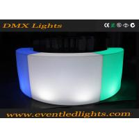 Wholesale Event Party / Wedding Lighting Led Furniture Mobile Bar Counter For Rental from china suppliers
