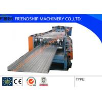 Wholesale Mild Steel And Galvanized Strip Coil Cable Tray Roll Forming Machine With 10-15m/min from china suppliers