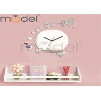 Wholesale Fashion Cupid Decorative Mirror Clock Novelty Quartz Wall Clock Silent Movement from china suppliers