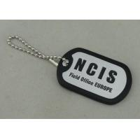 Wholesale NCIS Personalised Dog Tags By Aluminum Stamped , Silicone band Matched from china suppliers