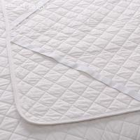 High Quality white quilting polyester Mattress Protector for hotel home