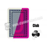 Wholesale Modiano 4 Plastic Jumbo Playing Cards Invisible Ink Poker Cheating Devices from china suppliers