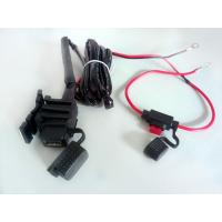 Wholesale 12V Motorcycle USB Charger Cable For iPad Phone Power System from china suppliers