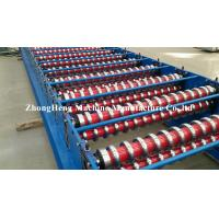 Quality High Power Corrugated Roll Forming Machine with Delta PLC control system for sale