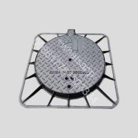 China d400 load  double seal water tight and fire hydrant ductile iron manhole cover on sale