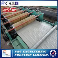 Quality 120m Length Garage Door Manufacturing Equipment , Pu Sandwich Panel Machine For Building for sale