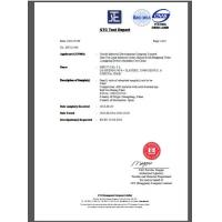 Shenzhen Nasida Furniture Company Limited Certifications
