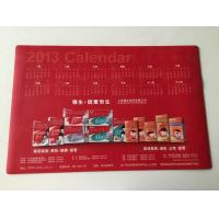Wholesale Office Smooth Rubber Desk Pad Calendar Table Mat with large Size from china suppliers
