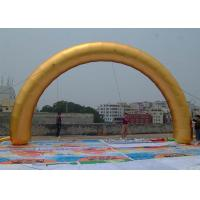 Wholesale High Tear Strength Golden Inflatable Gantry Fire Resistance / Waterproof from china suppliers