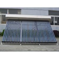 Quality Heat Pipe Evacuated Tube Solar Collector , 36tube Solar Heating System For Homes for sale