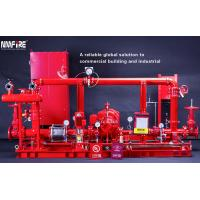 China UL / NFPA20 500GPM Skid Mounted Fire Pump With Centrifugal End Suction Fire Pump Sets on sale