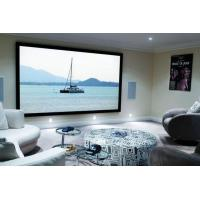 "Wholesale Home Cinema 150"" Wall Mount Fixed Frame Projector Screen With HD Matte White from china suppliers"