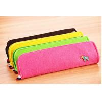 Wholesale wholesale Custom high quality Felt pencil bag with various color from china suppliers