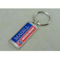 Wholesale Die Casting 3D Hard Promotional Keychain Misty Nickel 2.0 Inch Custom from china suppliers
