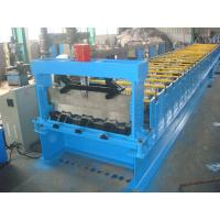 Wholesale 22kw Steel Deck Roll Forming Machine galvanized board For Material Handling from china suppliers