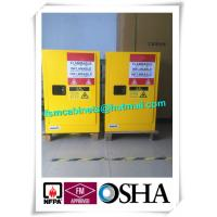 Quality Double Wall Construction Industrial Storage Cabinets / Chemical Storage Cupboards for sale