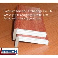 Wholesale wooden veneer profile wrapping machine from china suppliers