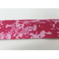 Wholesale Pink Color Printed Custom Polyester Lanyards For School Id , Environment Friendly from china suppliers