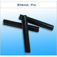 Quality Black Slotted Spring Pin,Black dowel pin,Spring teel spirol pin,steel slotted pin,spring steel roll pin for sale