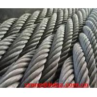 Wholesale steel wire rope, galvanized steel wrie rope, ungalvanized steel wire rope from china suppliers