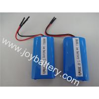 Wholesale High quality 7.4V3000mAh 2S1P 18650 rechagable battery with PCM protected for LED lighting from china suppliers