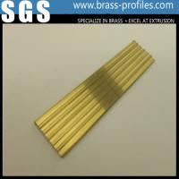 Wholesale C38000 Luxury Decoration Non-slip Nosing For Brass Flooring Stairs from china suppliers