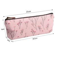 Wholesale Soft Nylon Zipper Pencil Pouch For Girls Pencil 21*18.5*8 Cm from china suppliers