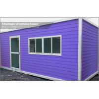 Wholesale Luxury EPS Sandwich Panel Prefab Container House Kits , Tiny Custom Modular Office from china suppliers