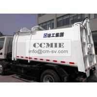 China Self Compress Side Loading Garbage Truck , Hydraulic System Waste Management Trucks on sale
