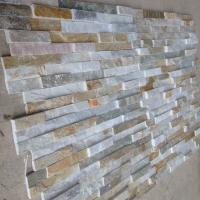 Wholesale Oyster Split Face Slate Stone Cladding Natural Ledgestone Oyster Thin Stone Veneer for Wall Decor from china suppliers