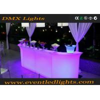 Quality Plastic Green Battery Operated Luminous Light Bar Counter For Hotel Resorts for sale