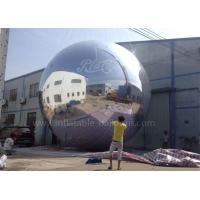Wholesale Commercial Inflatable Advertising Balloons , 6m Big Inflatable Mirror Ball from china suppliers