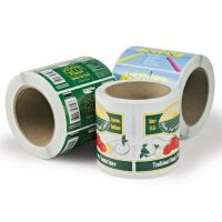 Wholesale Printed Self Adhesive Paper Custom Sticker Labels in Roll Recycled from china suppliers