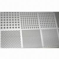 Wholesale Perforated Metal Mesh, Made of SS, Hot Dip Gal, Iron, Black Iron, AL Sheet in Anping from china suppliers