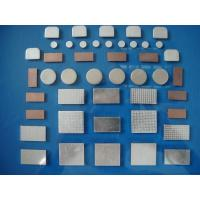Quality Anti - Welding Silver Nickel Contact , Metal Powder Metallurgy Contacts for sale