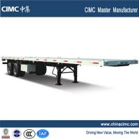 Wholesale 40ft flatbed  trailer 2 axles from china suppliers