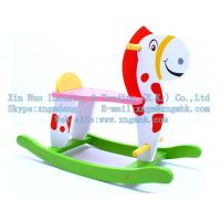 Wholesale Wooden rocking horse, wooden rocking horse, wooden children's toys, wooden toys from china suppliers
