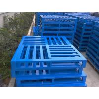 Wholesale Customized Q235B Metal Steel Pallets, 500-5000kg/pcs for Warehouse Store from china suppliers