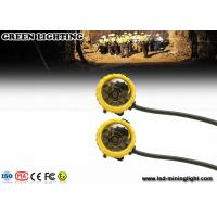 Wholesale Yellow Semi Cored Led Cap Lamp Underground Mining 20 Hours Long Working Time from china suppliers