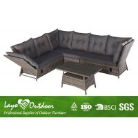 Wholesale Adjustable Corner Sofa Patio Seating Sets Moisture Proof Outdoor Balcony Furniture from china suppliers