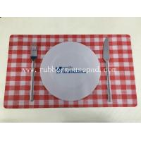 Wholesale Anti-Slip Rubber Desk Pad advertising / Rubber Dinner Mat skidproof from china suppliers