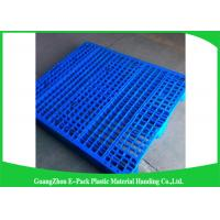 Wholesale Single Faced Plastic Euro Pallets Virgin HDPE Ventilated For Warehouse from china suppliers